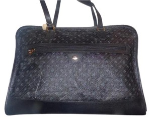 Gucci Extra Large Size Satchel Or New Old Stock Link Logo Multi-compartment Tote in black, greys, white