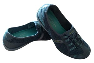 Skechers Gray, Aqua Athletic