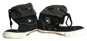 Converse Sneaker Black with grey Flats