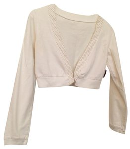 Other Crop Gold Cardigan