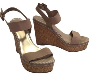 Charles by Charles David Nude Wedges