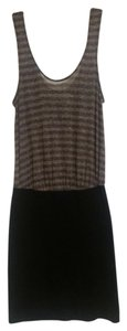 Free People short dress Grey and Black on Tradesy