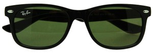 Ray-Ban NEW! Kids New Wayfarer Sunglasses RJ9052S, Black, 47mm