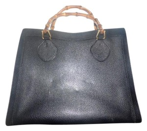 Gucci Extra Large Size Satchel in midnight blue to black