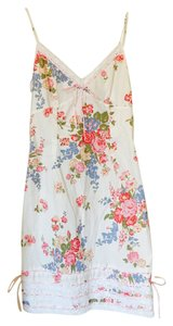 Betsey Johnson short dress White floral on Tradesy