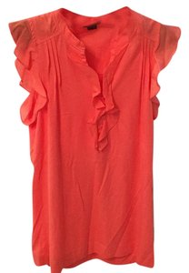 Theory Top Coral-orange