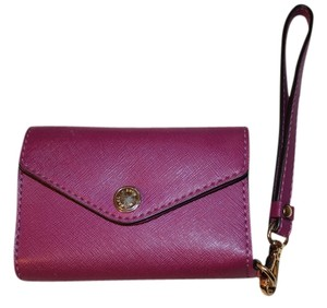 Michael Kors Wristlet in Plum