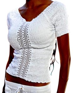 Lirome Summer Vacation Top White