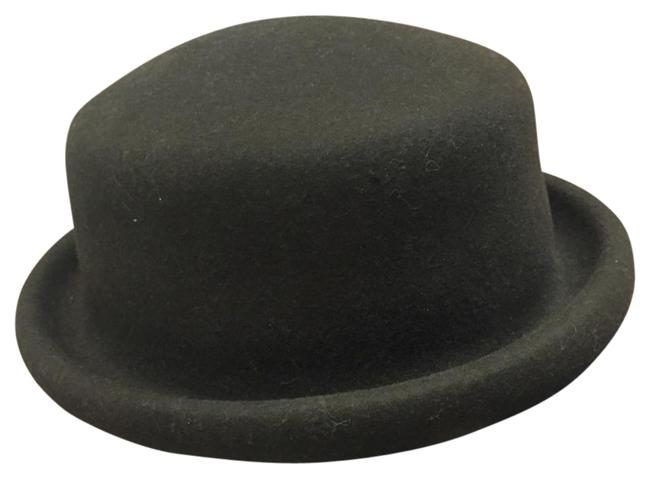 Item - Coffee Brown British Style Small Round Wool Hat