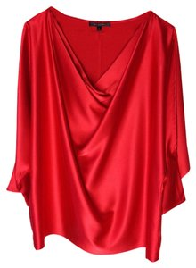St. John St Collection Dolman Top Granita Red