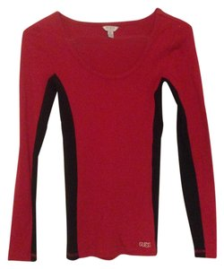 Guess Top red and black