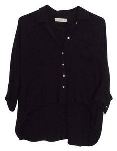 Abercrombie & Fitch Button Down Shirt black