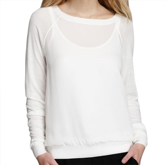 Preload https://item3.tradesy.com/images/vince-white-sweaterpullover-size-4-s-1727547-0-0.jpg?width=400&height=650