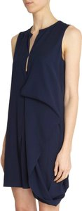 Acne Studios short dress Midnight Blue/Navy on Tradesy