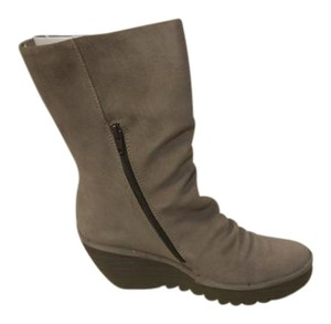 FLY London Taupe Boots