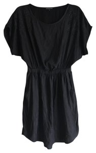 Express Short Sleeve Silk Dress
