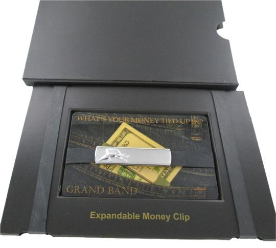 THE GRAND BAND THE GRAND BAND MONEY CLIP SAILFISH STAINLESS STEEL GB7000 CASH ORGANIZER DOLLAR