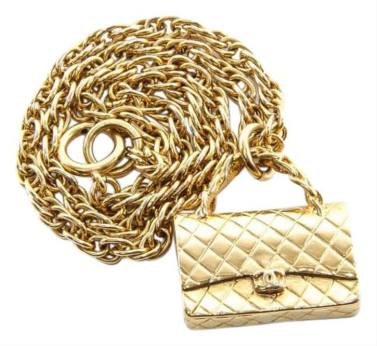 Preload https://item1.tradesy.com/images/chanel-vintage-metalasse-bag-motif-gold-necklace-with-box-17276110-0-1.jpg?width=440&height=440