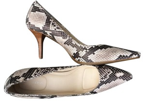 Calvin Klein Pump Black/Gray snakeprint Pumps