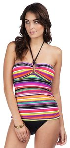 Ralph Lauren Ralph Lauren Sunset Stripe Shirred Bandeau One Piece Slim Collection Size 4