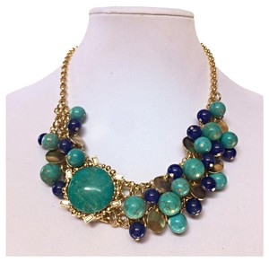 ACC4U Beaded Statement Necklace Beaded Statement Necklace