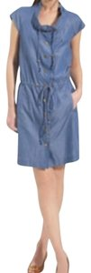 Tory Burch short dress Chambray on Tradesy