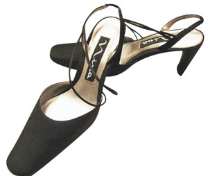 Nina Shoes Black Fabric Formal