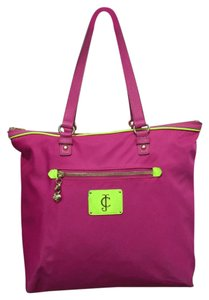 Juicy Couture Nylon Tote in Pink