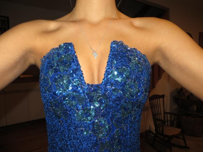 Fernando Wong High-low Sequined- Amazing Color Dress