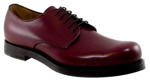 Gucci 353021 Lace Up Leather Bordeaux Formal
