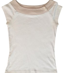 Gap Top Tan, Cream