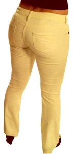 Love Moschino Boot Cut Pants Vanilla