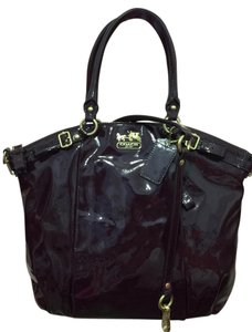 Coach Patent Leather The Oprah Shoulder Bag
