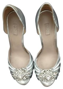 Glint Metallic Rhinestone Wedding Silver Formal