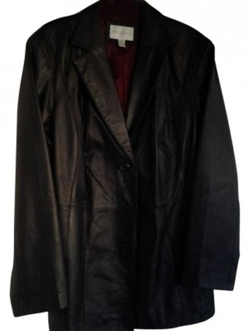 Preload https://img-static.tradesy.com/item/17278/worthington-black-mid-length-ladies-extra-large-leather-jacket-size-18-xl-plus-0x-0-0-650-650.jpg