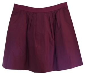 J.Crew Mini Skirt Purple