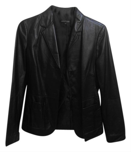 Preload https://item1.tradesy.com/images/kenneth-cole-black-leather-jacket-size-4-s-1727825-0-0.jpg?width=400&height=650
