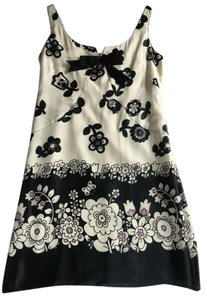 Anna Sui short dress White/Multi on Tradesy