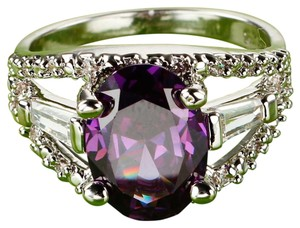 Other Purple gemstone amethyst fashion ring