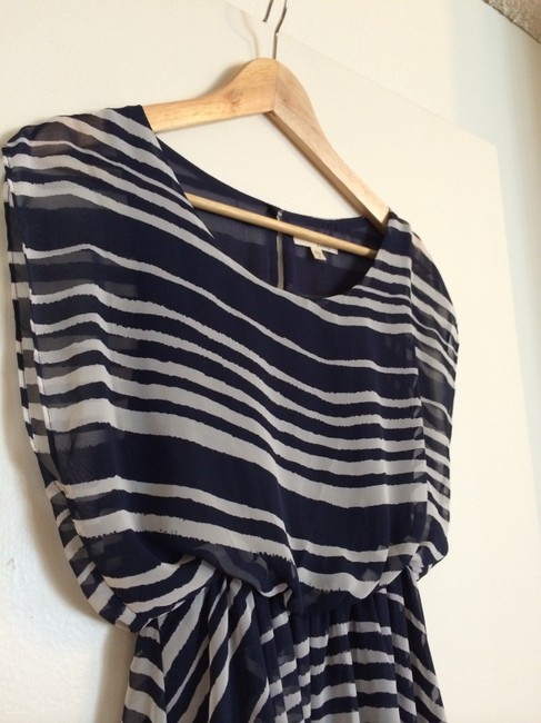 Lush short dress Navy and white on Tradesy