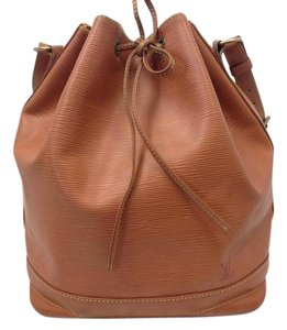 Louis Vuitton Epi Noe Epi Brown Shoulder Bag