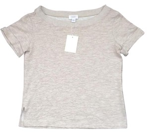 Anthropologie Made In Usa T Shirt Oatmeal