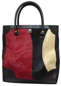 Kate Spade Multi Colored Work Computer Tall Tote in Black, red, white