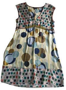 Taylor & Hyde short dress Multi-Color Beige Printed on Tradesy