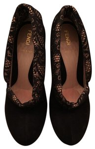 Fendi Black & Lace Pumps
