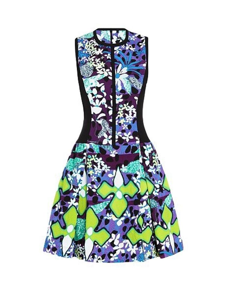 9d06aa434ab3c Peter Pilotto for Target Multi-color Above Knee Night Out Dress Size ...