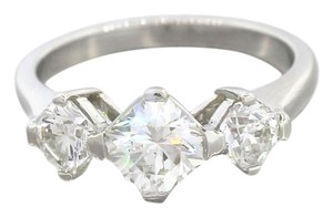 Other Exquisite Platinum 1.93ctw ELARA Diamond Three-Stone Engagement GIA Ring