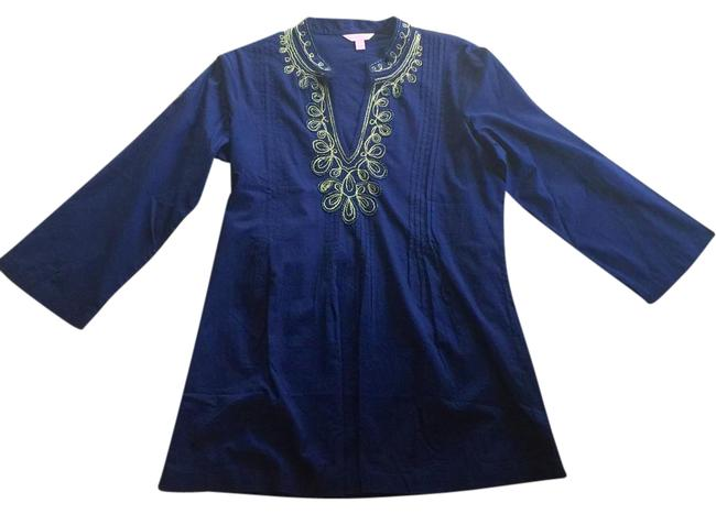 Item - Navy and Gold Tunic Size 12 (L)