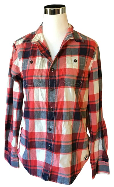 dd7b5924288a chic American Eagle Outfitters Button Down Shirt - 42% Off Retail ...