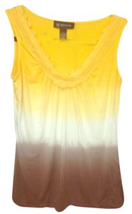 INC International Concepts Top Yellow